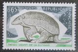Poštovní známka Francie 1974 Pásovec velký Mi# 1892