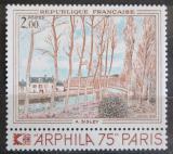 Poštovní známka Francie 1974 Umění, Alfred Sisley Mi# 1893