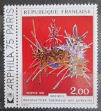 Poštovní známka Francie 1974 Umění, Georges Mathieu Mi# 1894