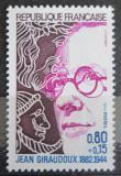 Poštovní známka Francie 1974 Jean Giraudoux, spisovatel Mi# 1895