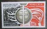 Poštovní známka Francie 1974 Medaile za odboj Mi# 1897