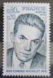 Poštovní známka Francie 1975 Edmond Michelet, politik Mi# 1909