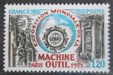 Poštovní známka Francie 1975 Výstava pracovních strojů Mi# 1917