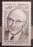 Poštovní známka Francie 1975 Robert Schuman, politik Mi# 1918