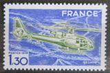 Poštovní známka Francie 1975 Helikoptéra Gazelle Mi# 1922