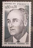 Poštovní známka Francie 1975 Eugene Thomas, politik Mi# 1929