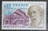 Poštovní známka Francie 1975 Maurice Pottecher Mi# 1930