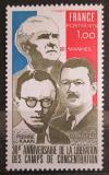 Poštovní známka Francie 1975 Osvobození z koncentračních táborů Mi# 1932