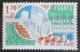 Poštovní známka Francie 1975 Moderní město Mi# 1935