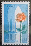 Poštovní známka Francie 1975 Růže z Pikardie Mi# 1939
