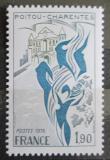 Poštovní známka Francie 1975 Region Poitou-Charentes Mi# 1944