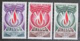 Poštovní známky Francie 1969 Vydání pro UNESCO Mi# 9-11