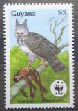 Poštovní známka Guyana 1990 Harpyje, WWF Mi# 3078