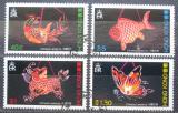 Poštovní známky Hongkong 1984 Čínské lampióny Mi# 431-34 Kat 14.50€