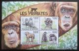 Poštovní známky Burundi 2011 Primáti Mi# Block 164 Kat 9.50€