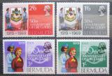 Poštovní známky Bermudy 1969 Skautky Mi# 219-22