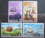 Poštovní známky Bermudy 1971 Plachetnice Mi# 269-72 Kat 10€
