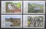 Poštovní známky Venda, JAR 1981 Vodopády a jezera Mi# 42-45
