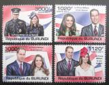 Poštovní známky Burundi 2011 Princ William a Kate Mi# 2286-89 Kat 9.50€