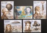 Poštovní známky Burundi 2012 Létající balóny Mi# 2406-10 Kat 10€
