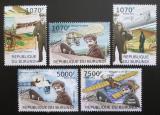 Poštovní známky Burundi 2012 První let z Paříže do Londýna Mi# 2416-20 Kat 10€