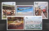 Poštovní známky Fudžajra 1973 Doprava Mi# 1289-93 Kat 8€