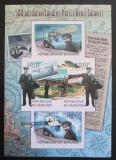 Poštovní známky Burundi 2012 První let z Paříže do Londýna neperf. Mi# 2416-19 B