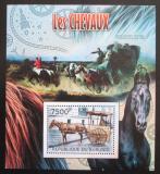 Poštovní známka Burundi 2012 Dostavníky Mi# Block 213 Kat 9€
