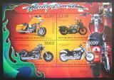 Poštovní známky Burundi 2012 Harley Davidson Mi# 2928-32 Kat 10€