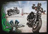 Poštovní známka Burundi 2012 Harley Davidson Mi# Block 310 Kat 9€