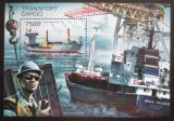 Poštovní známka Burundi 2012 Přeprava zboží Mi# Block 308 Kat 9€