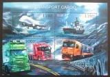 Poštovní známky Burundi 2012 Přeprava zboží Mi# 2918-21 Kat 10€