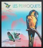 Poštovní známka Burundi 2012 Papoušci neperf. Mi# Block 287 B
