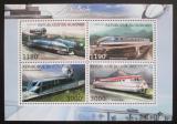 Poštovní známky Burundi 2012 Rychlovlaky Mi# 2943-46 Kat 10€