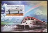 Poštovní známka Burundi 2012 Rychlovlaky Mi# Block 313 Kat 9€