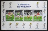 Poštovní známky Gibraltar 1998 MS ve fotbale Mi# Block 31