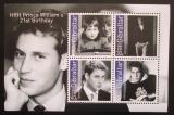 Poštovní známky Gibraltar 2003 Princ William Mi# Block 56
