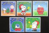 Poštovní známky Gibraltar 2001 Vánoce Mi# 984-88 Kat 8€