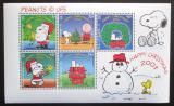 Poštovní známky Gibraltar 2001 Vánoce Mi# Block 48 Kat 8€