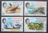 Poštovní známky Tristan da Cunha 1968 Ptáci Mi# 116-19