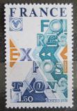 Poštovní známka Francie 1976 Výstavy a veletrhy Mi# 2000
