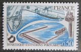 Poštovní známka Francie 1977 Přístav Dunkerque Mi# 2013
