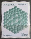 Poštovní známka Francie 1977 Umění, Victor Vasarely Mi# 2022
