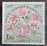Poštovní známka Francie 1977 Svaz zahrádkářů Mi# 2026