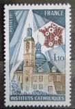 Poštovní známka Francie 1977 Katolické školy, 100. výročí Mi# 2029