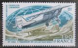 Poštovní známka Francie 1977 Letadlo Spirit of St. Louis Mi# 2032