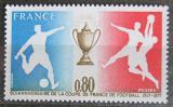 Poštovní známka Francie 1977 Francouzský fotbalový pohár, 60. výročí Mi# 2035