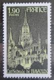 Poštovní známka Francie 1977 Katedrála v Bayeux Mi# 2041