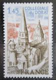 Poštovní známka Francie 1977 Opatství Dorat Mi# 2042