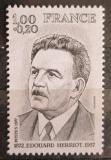 Poštovní známka Francie 1977 Edouard Herriot, politik Mi# 2049